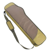 Portable Fishing Bags Canvas Fishing Pole Tools Storage Bag