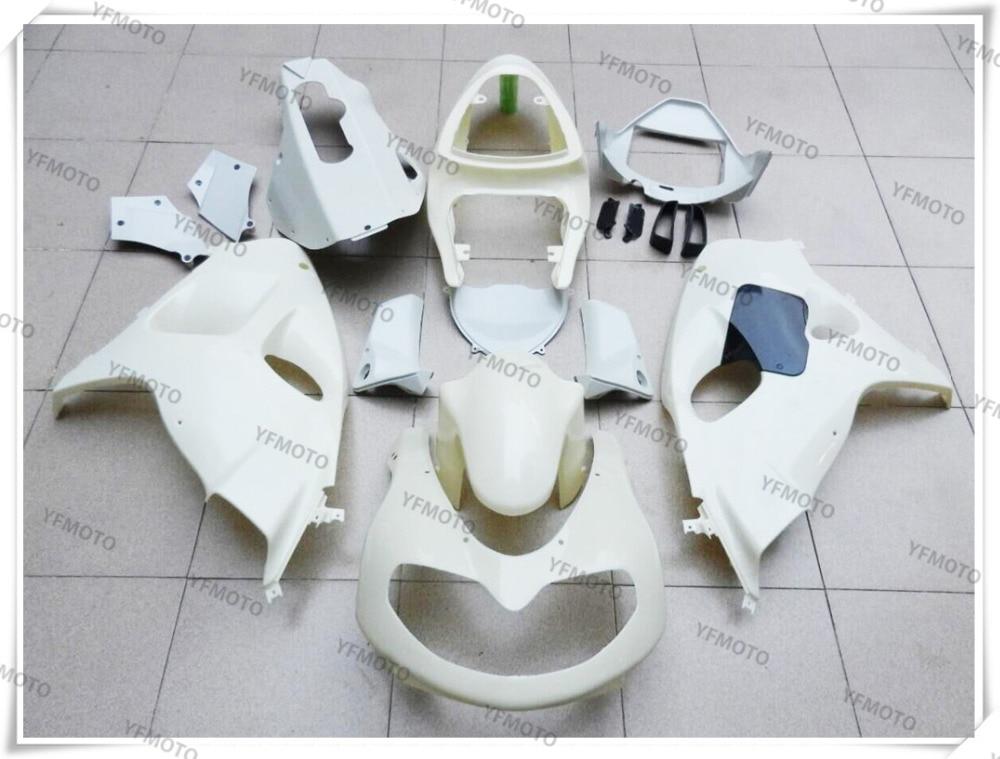 Мотоцикл неокрашенный Белый Обтекатели кузова Комплект для Suzuki системы GSX/TL1000R TL1000 Р ТЛ 1000 р 1998-2002 +4 подарок