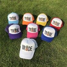 Pineapple Snapback Hats for Women Bride Trucker Hat Neon Team Tribe Mesh  Trucker Hat Cap Bachelorette fd34bd398ec0