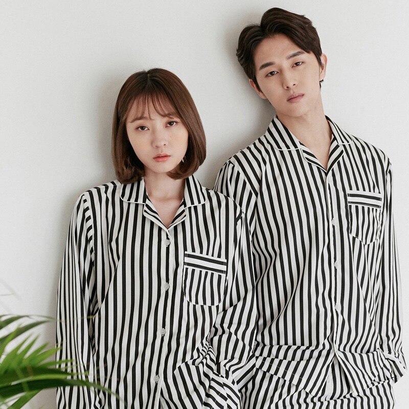 Men's Winter Suits Couple Pyjama Set Men Pajamas Cotton Long Sleeve Pijamas Casual Sleepwear For Male Pyjamas Pijama Hombre