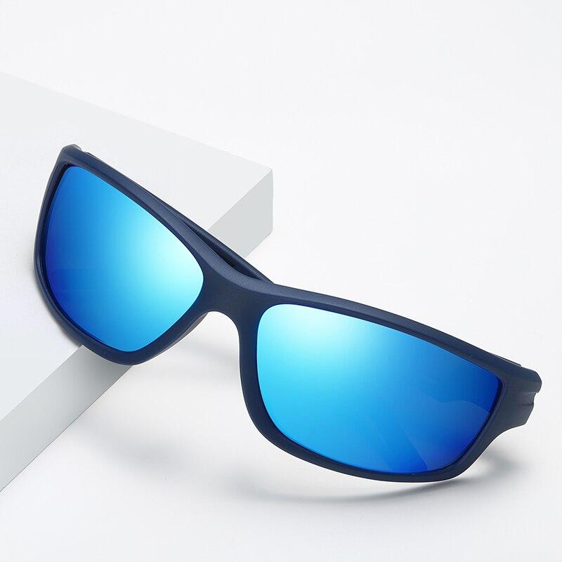 Fashion Mens TR90 Sport Goggles 2019 Polarized Sunglasses Men Outdoor Night Vision Driving Glasses Male Gafas De Sol Hombre in Men 39 s Sunglasses from Apparel Accessories