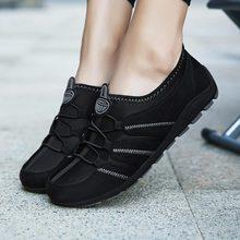 Letnie oddychające sportowe trampki damskie buty do biegania dla kobiet sportowe buty Lady tenis Femme czarne treningowe trenerzy Obuv A 249