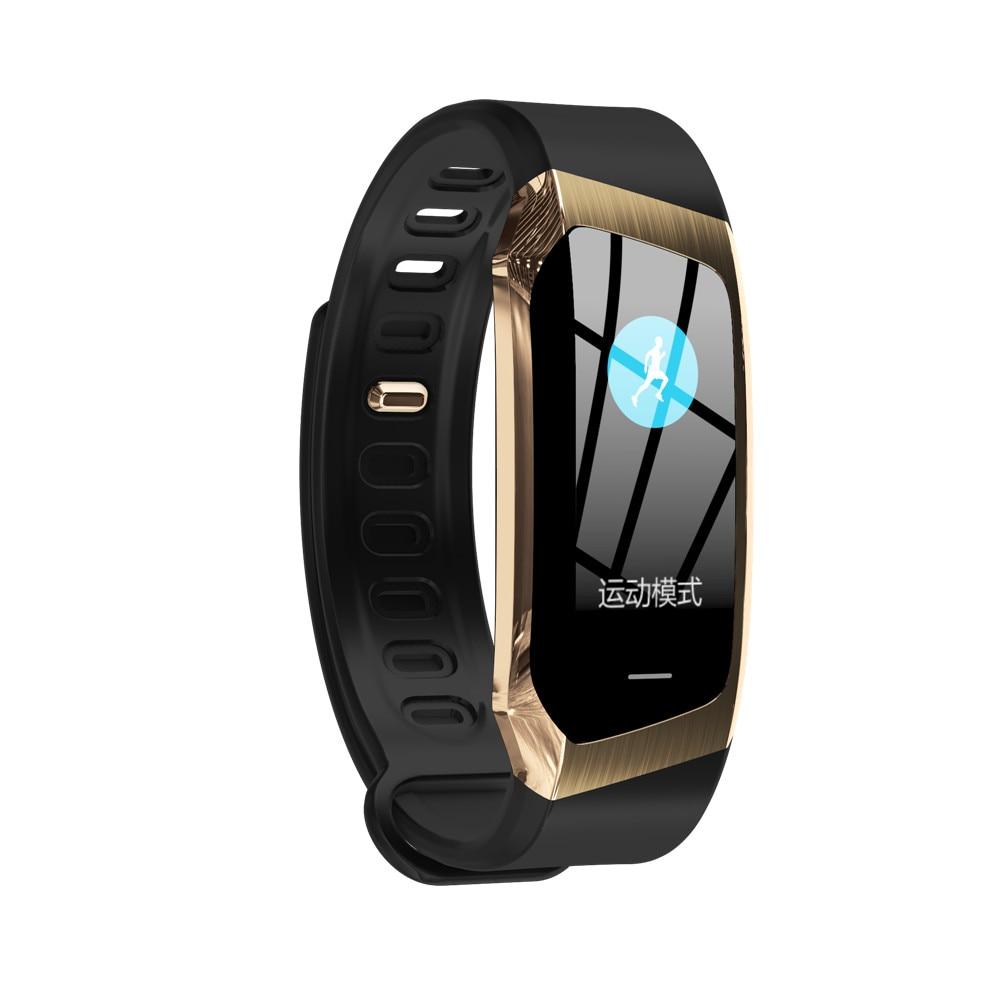 Greentiger E18 Smart Bracelet Blood Pressure Heart Rate Monitor Fitness Tracker smart watch IP67 Waterproof camera Sports Band
