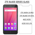 ZTE Axon 10 Pro 5G Glass Explosion-proof Tempered Glass For Zte Blade V9 Vita A622 A530 A330 V10 L7A Screen Protector Film 2.5D