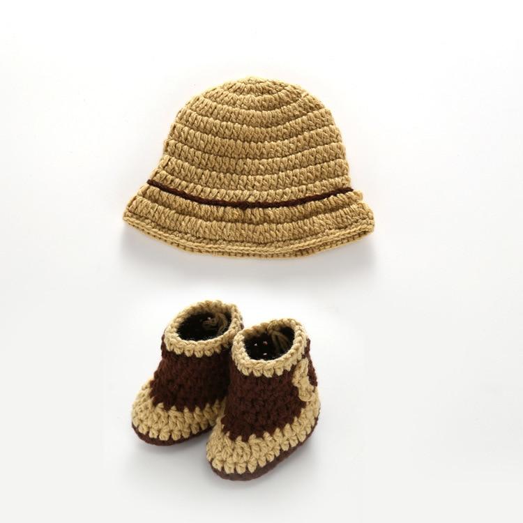 Bebé del Sombrero de Vaquero Y Botas Traje Recién Nacido Regalo de ...