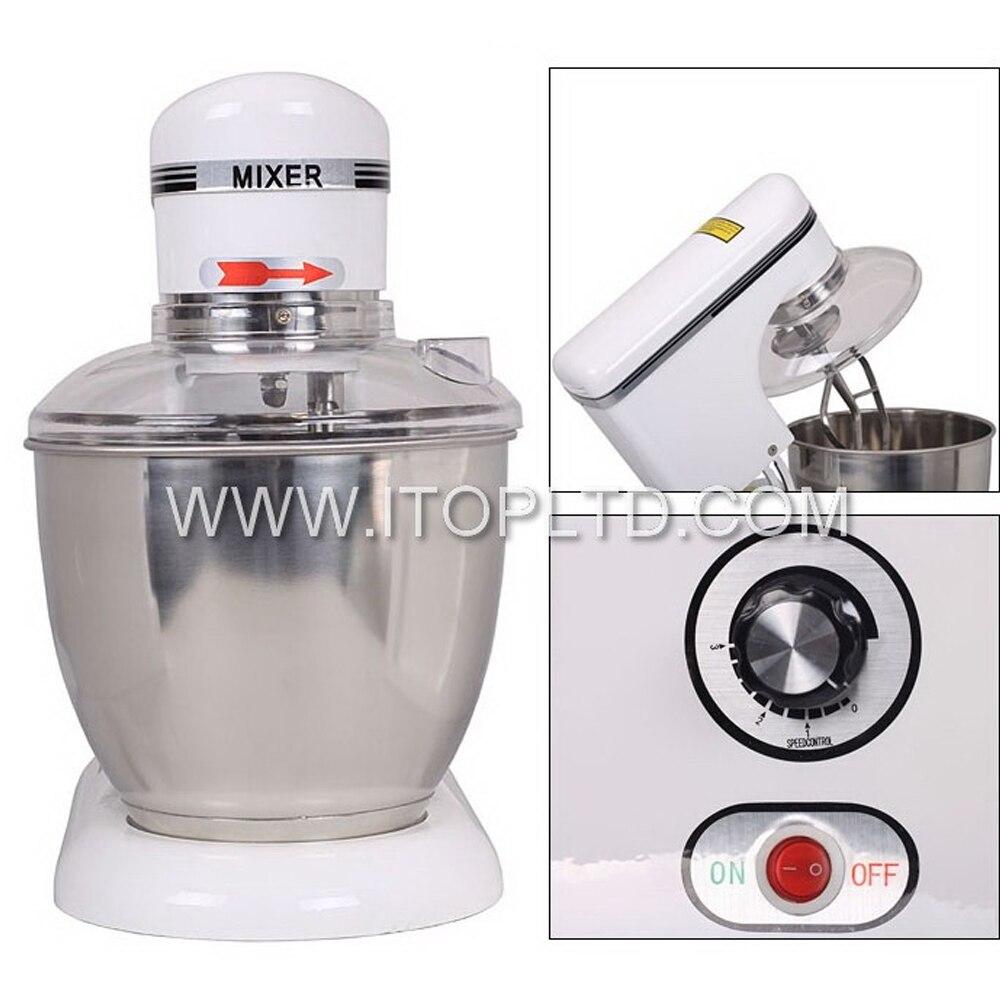 ITOP 7.5L Raisable head electric large industrial food mixer dough mixer egg beater