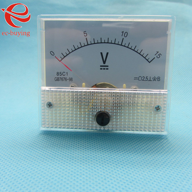 Highimpedance Voltmeter Analog Integrated Circuits