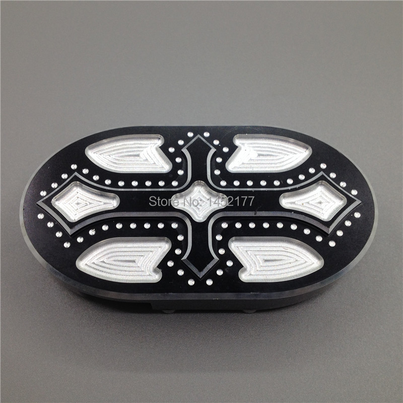 Cross GUAIMI Brake Pedal Pad Cover Fits For Harley Sportster XL883 XL1200 48 Custom