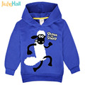 Jiuhehall 3 Types Cartoon Sheep Sweatshirts Long Sleeve Casual Hoodies For Boy Girl Polyester Kids Clothing FCM075