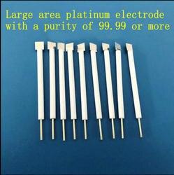 10*10*0.1mm Platinum Plate Electrode Purity 99.99 Platinum Electrode for Assistant Electrode