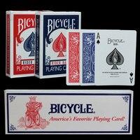 Оригинальный велосипед покер велосипед Волшебные обычные игральные карты всадник назад стандартные колоды волшебный трюк красный и синий ...