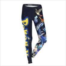 Game Pokemon XL costume Print Legging Black Women Cosplay Pants Summer Casual tight Autumn sexy anime Slim Skinny Jeans