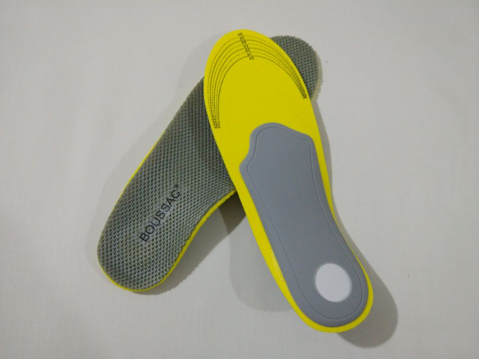 BOUSSAC EXPfoot Gitibaba Orthotic Arch Support Insoles Gel Heel Pad