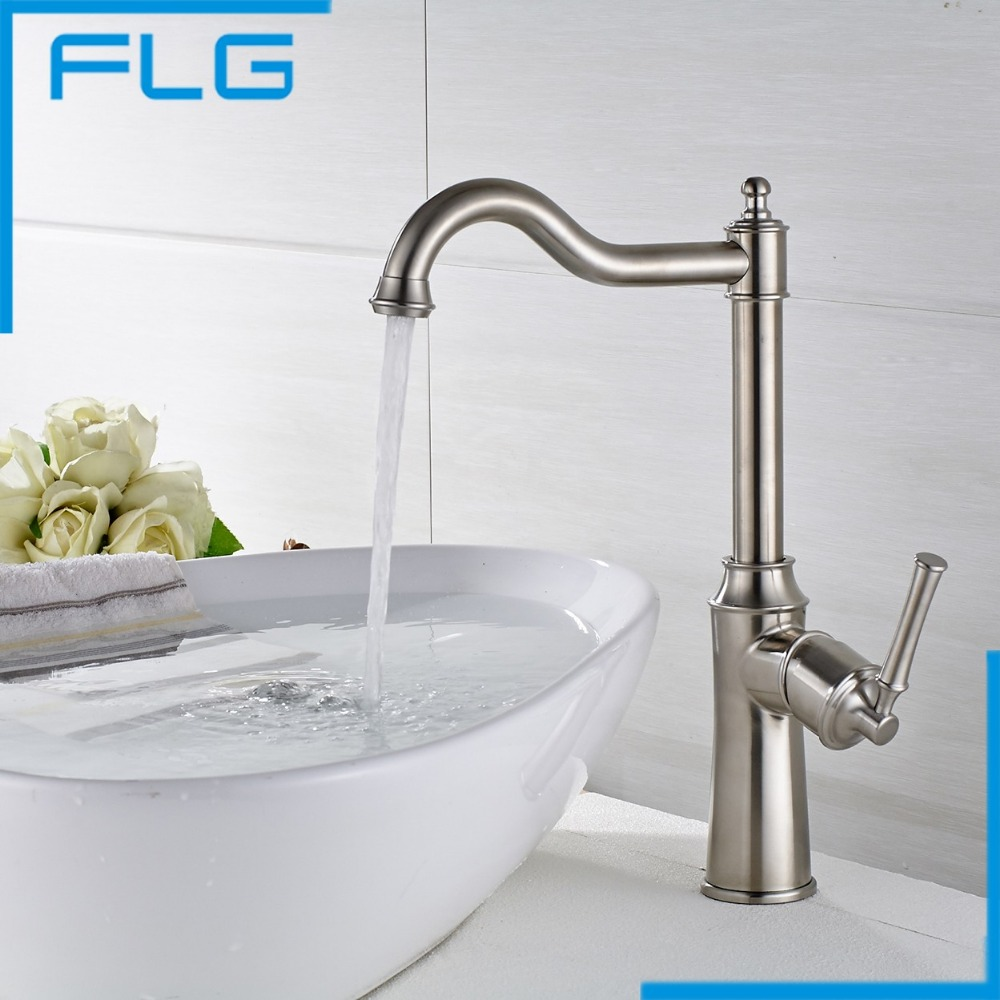 online buy wholesale stainless faucets kitchen from china new arrival sus 304 stainless steel faucet kitchen mixer tap nickel brushed kitchen pull swivel
