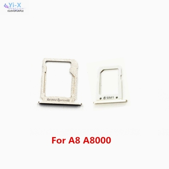 10sets/lot New SIM Card Tray Holder for Samsung Galaxy A8 A8000