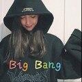 Motelon al por mayor Otoño Invierno Corea ulzzang Harajuku Loose Regular Pullover Hoodies Mujeres Sudadera Con Capucha Casual Sudaderas