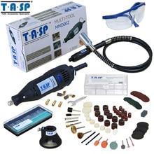 Styl elektryczne obrotowe dremel narzędzie tasp 220 v 130 w zmiennej prędkości mini wiertarka z wałek giętki i 140 pc akcesoria do elektronarzędzi