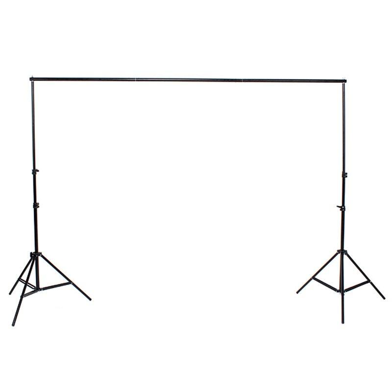 2x2 m 6.5FT professionnel photographie arrière-plan Support système se dresse Studio pour Photo Studio accessoires