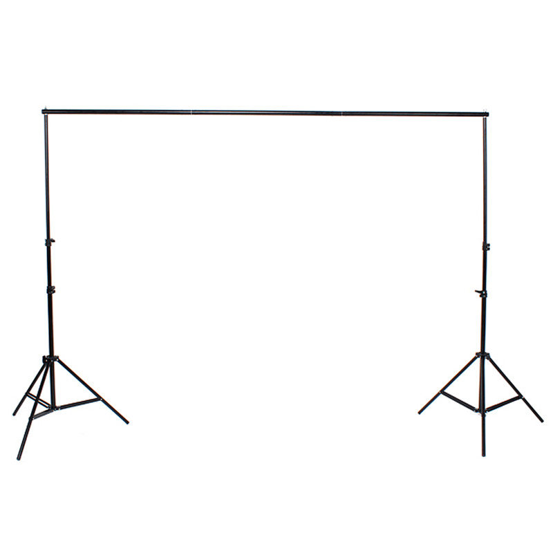 2x2m 6.5FT Professinal Photography Background Backdrops Support System Stands Studio For Photo Studio Accessories vinyl photo background for baby studio props wooden floor christmas photography backdrops 5x7ft or 3x5ft jiesdx005