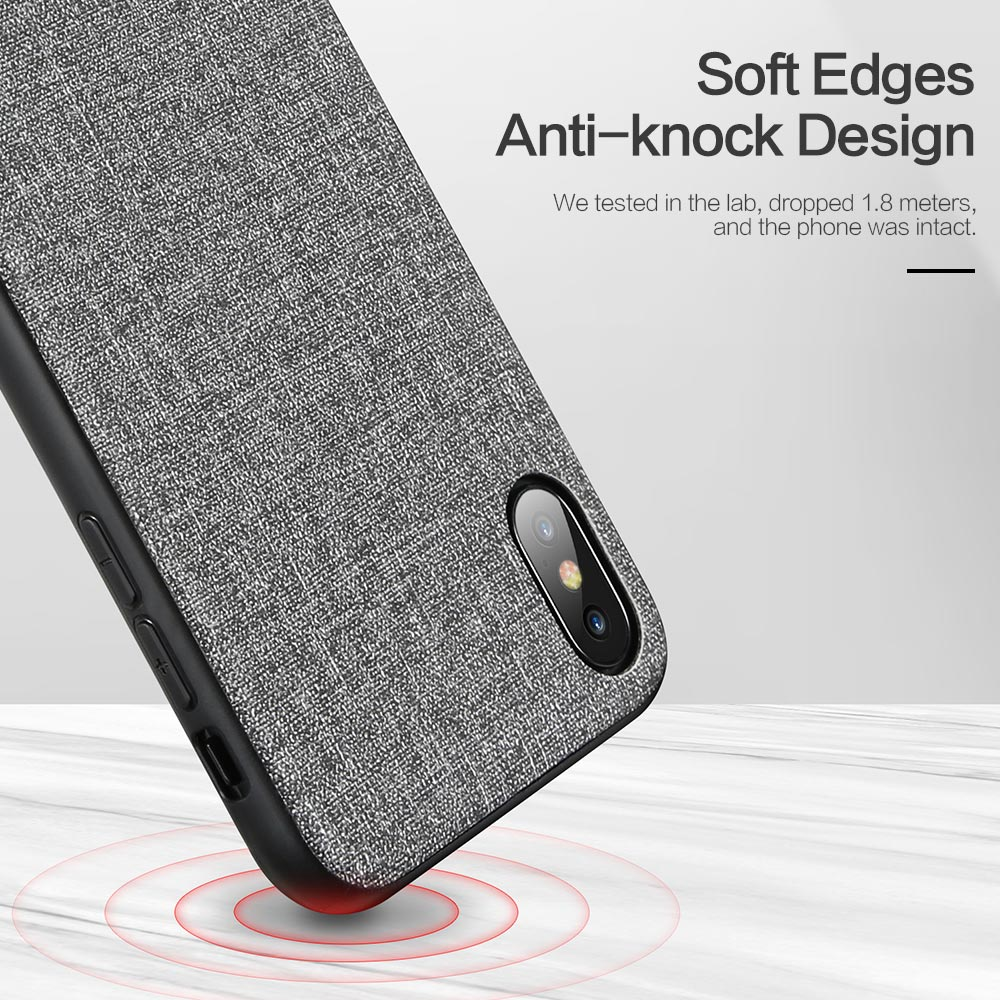 Image 3 - KISSCASE Cloth Leather Case For Samsung Galaxy A50 A70 A40 A20 A30 A60 A80 A90 A6 A8 J4 J6 2018 Phone Case For Samsung S10 Plus-in Fitted Cases from Cellphones & Telecommunications