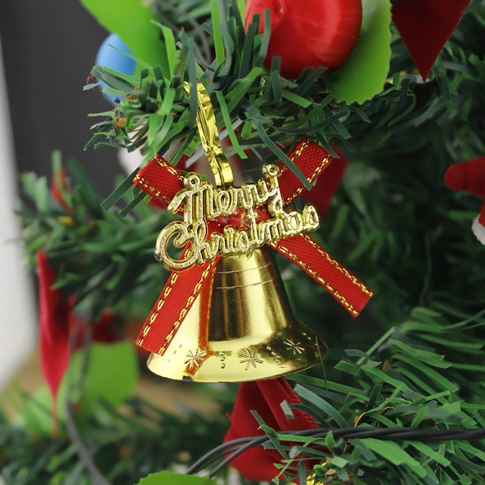 Bell christmas ornament - 2015 Hot Sale Craft Supplies Jingle Bells 6pcs 3cm Christmas Bell Jingle Bell Ornament For Christmas