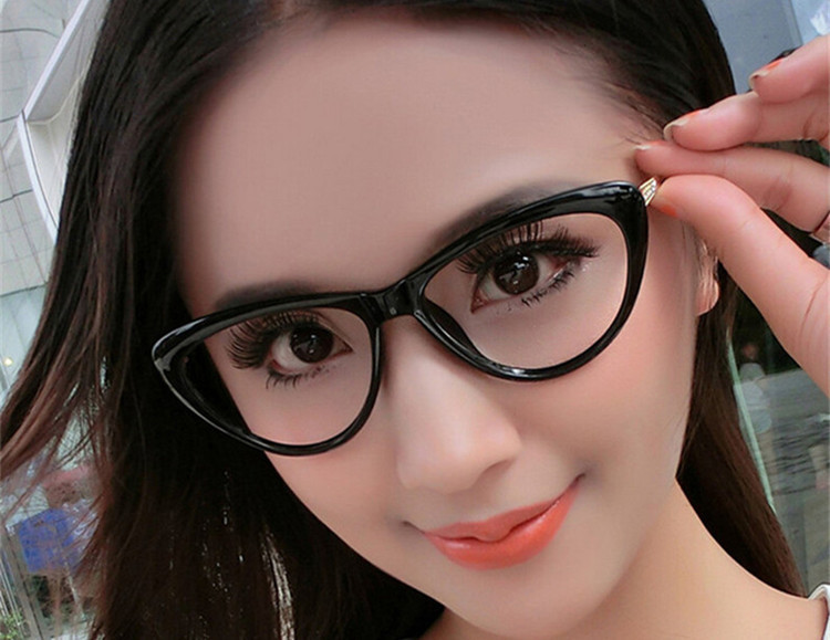 9675b45e3a3 Detail Feedback Questions about BOYEDA New Brand Female Grade Optical Women  Glasses Spectacle Frame Cat Eye Eyeglasses Anti fatigue Computer  Transparent ...