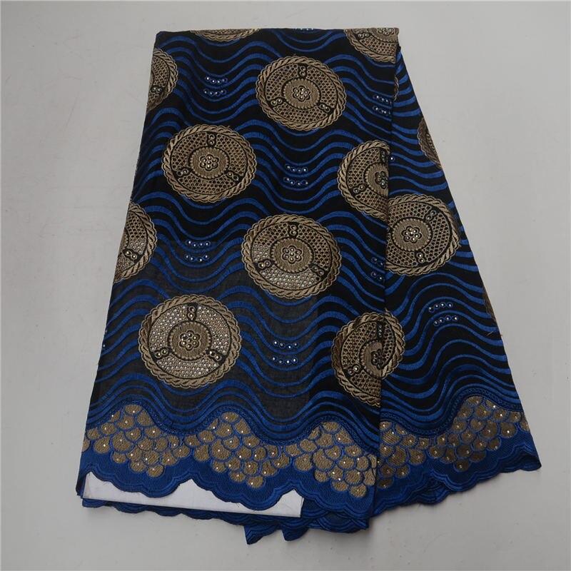 Bleu marine Colo dentelle suisse en vrac haute qualité suisse Voile lacets tout nouveau africain dentelle tissus coton matériaux 30