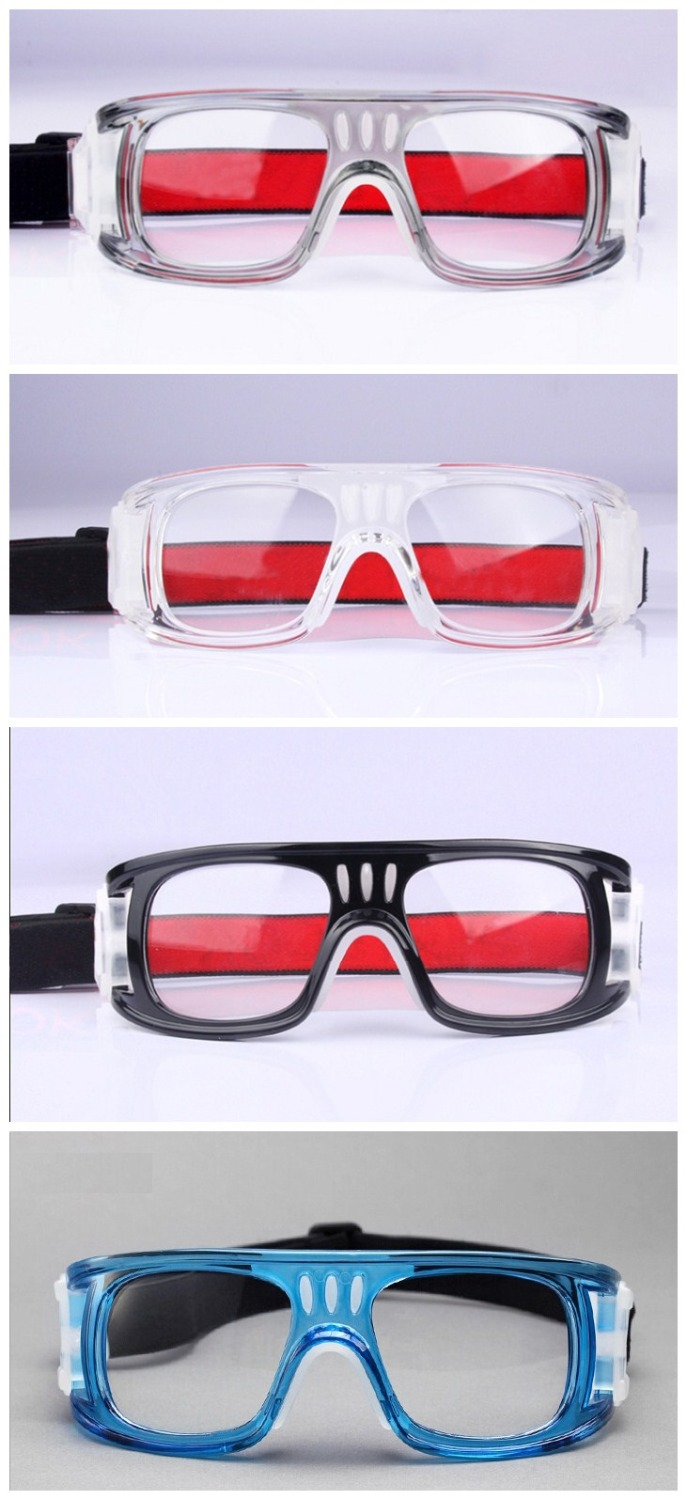 Men Anti-fog soccer basketball glasses bendable soccer glasses protective football goggles flexible sports eyewear