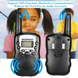 Image 2 - 2 STUKS Baofeng BF T3 Walkie Talkie Beste Geschenk voor Kinderen Kinderen Radio Mini Handheld T3 Draadloze Twee Manier Radio Kids speelgoed Woki Toki
