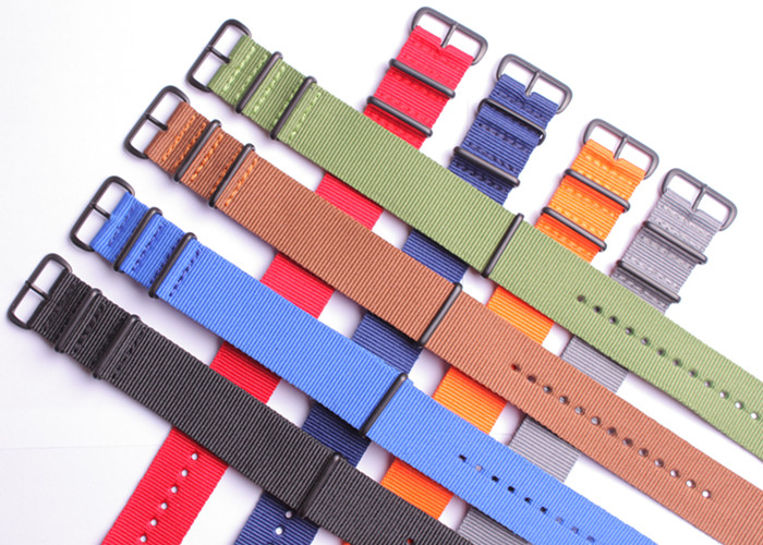 1pcs 18mm 20mm 22mm 24mm High quality 30 Color available Nylon casual canvas Watch Strap Wristwatch Band DB Buckle Fabric 1pcs canvas fabric nylon watch straps bands black army green brown gray striped replace wristwatch bracelet width 20mm