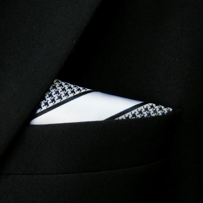 HTB1dvwuNpXXXXaFXVXXq6xXFXXXD - Stylish Houndstooth Pattern Handkerchief