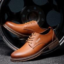 NORTHMARCH/Мужская обувь; кожаная официальная Мужская офисная обувь высокого качества; кожаная деловая мужская повседневная обувь; Zapatos De Cuero Hombre