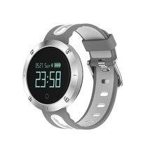 2017 S18 Bluetooth артериального давления Smart Браслет Heart Rate Мониторы жизни Водонепроницаемый Спорт SmartBand браслет для IOS Android