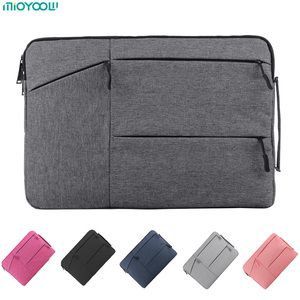 Image 1 - Laptop Bag For Macbook Air Pro Retina 11 12 13 14 15 15.6 inch Laptop Sleeve Case PC Tablet Case Cover for Xiaomi Air HP Dell
