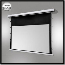 Premium Tab-Tension AcousticPro, 16:9HDTV 4K/8K Ultra HD Electric Sound Transparent Perforated Woven Drop Down Projector Screen(Hong Kong,China)