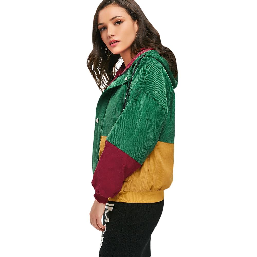 HTB1dvxShhTI8KJjSspiq6zM4FXay - Jackets Women Hip Hop Zipper Up Hoodies Coat female 2018 Casual Streetwear Outerwear PTC 302