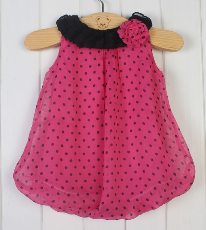 2014 New Fashion Polka Dot girl print dress brand newborn baby girls floral  bodysuit dress infant summer clothes for 0 3 Month-in Dresses from Mother    Kids ... 2dbd66835a