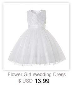 e730ee2d9 CAILENI Girls Evening Party Dress Flower Children Wedding Ball Gowns ...