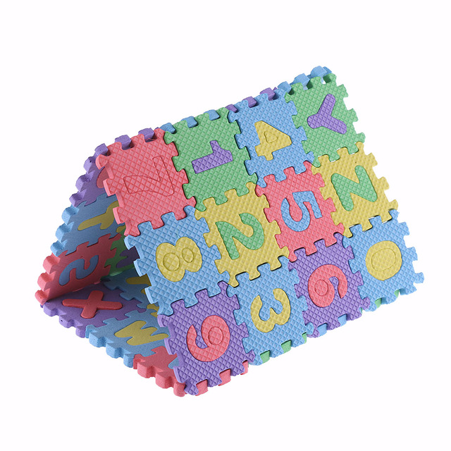 Multifunctional Letters and Numbers Puzzle (36 Pieces)