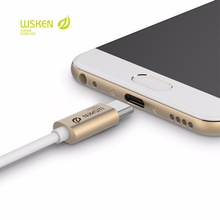 Wsken Cable Usb C Cable 3.0 Metal Data Usb Type C Cable Usb-C High Speed Charging Cable For Samsung S8 Oneplus Xiaomi 4C 5 Nexu high speed cable