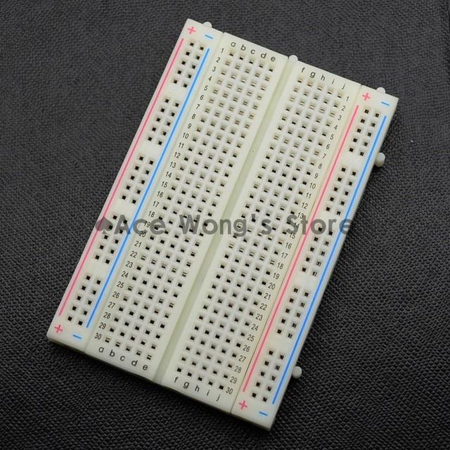 Kalite mini ekmek tahtası/breadboard 8.5 CM x 5.5 CM 400 delik