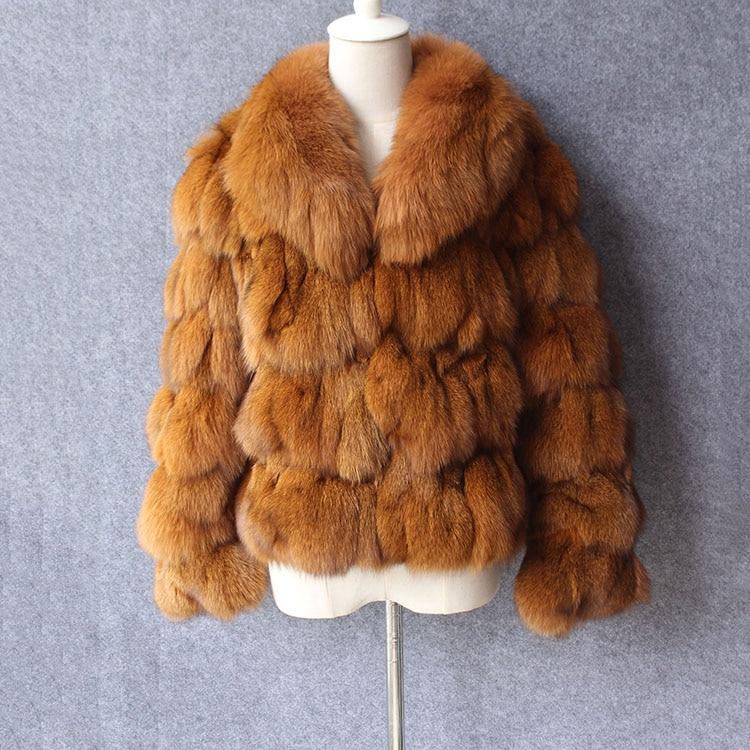 Kadın Giyim'ten Gerçek Kürk'de Düşük Fiyat Yeni 2018 Kış Kadın gerçek Tilki Kürk Ceket tilki kürk yakalı kadın Hakiki Gerçek Kürk ceket Giyim palto giyim'da  Grup 1
