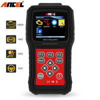 Automotive Scanner Original ANCEL AD610 AutoMaster Pro ABS SRS Airbag Air Bag Crash Data Reset Car
