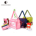 2pcs kawaii cartoon animal diaper bag large capacity nappy bag for mommy and baby multifunctional women handbags Mother BagHK361