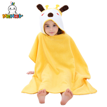 MICHLEY Baby Bathrobes Newborn Girls Hooded Summer Pajamas Boys Colorful Animals Clothing Breathable Cotton Childrens Towel WEF