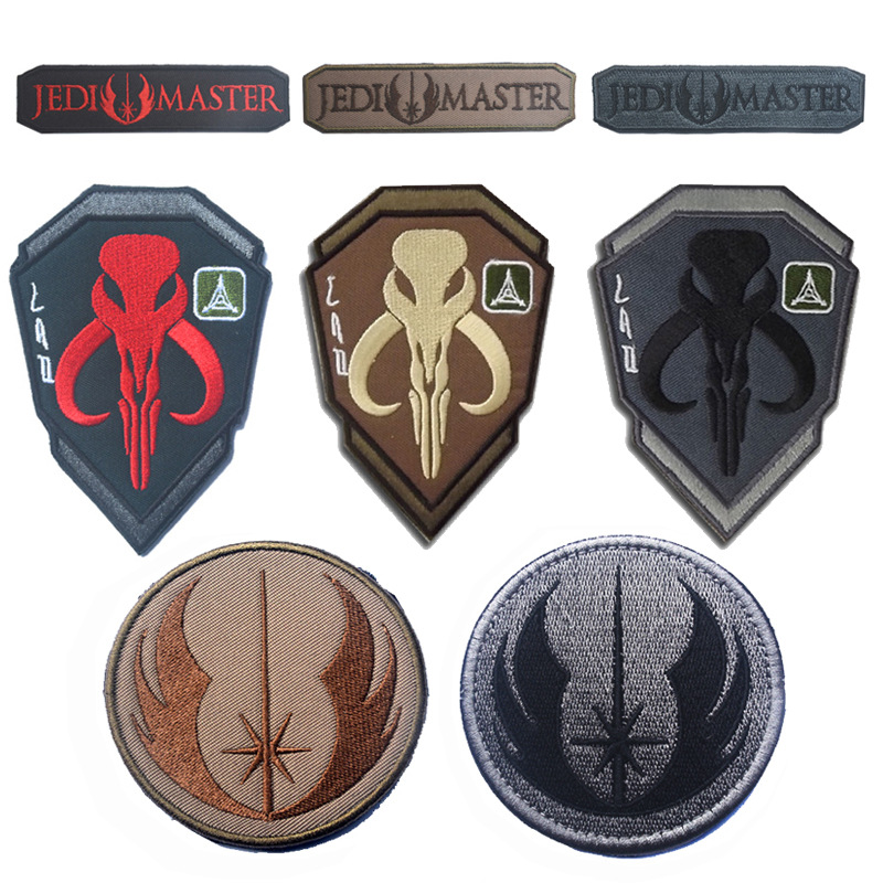 50 Pcs Cross Medical Patch Morale Tactical Patches Hook & Loop Embroidery Badge Military Army Armband Badge 2.5*2.5cm Wholesale Music Memorabilia