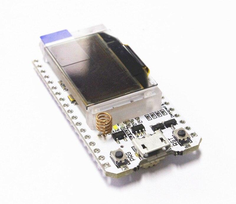 2PCS 433MHZ SX1278 ESP32 LoRa 0.96 Inch Blue OLED Display Bluetooth WIFI Lora Kit 32 Development Board for Arduino