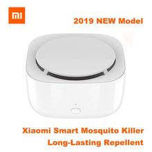 2019New Xiaomi Mijia Movable Portable Mosquito Repellent Killer Smart Version Timing No Heating Fan Drive with Led Light original xiaomi mijia movable portable mosquito repellent killer timing no heating fan drive with led light use 90 day