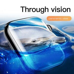 Image 3 - Baseus 0.2mm 얇은 보호 유리 Apple Watch 4 5 6 SE 3D Full Coverage 강화 유리 iWatch 4 3 2 화면 보호기