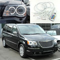For Chrysler Voyager Grand Voyager 2008-2014 Excellent Angel Eyes kit Multi-Color Ultrabright RGB LED Angel Eyes Halo Rings
